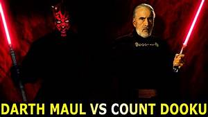 Darth Maul Vs Count Dooku Who Wins? - Star Wars Versus ...