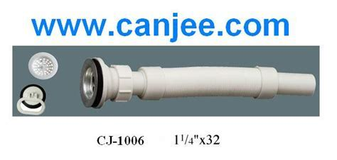 flexible waste pipe connection for wash basin drain from