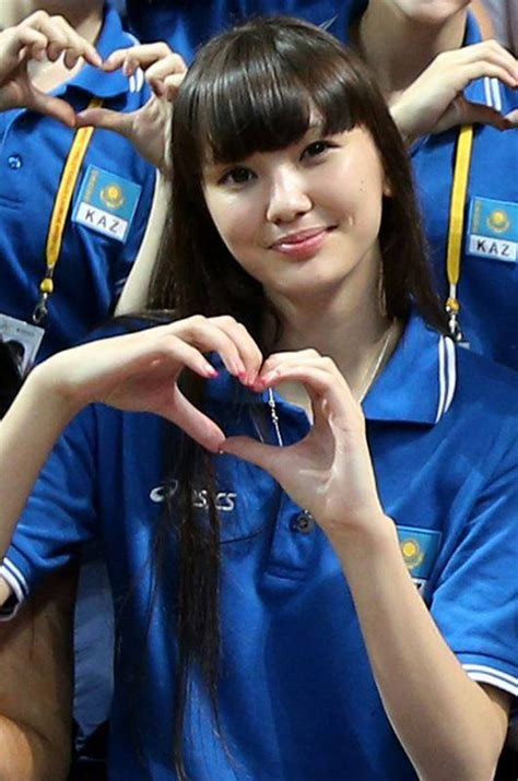 Sabina Altynbekova Fans Fawn Over Beautiful Volleyball