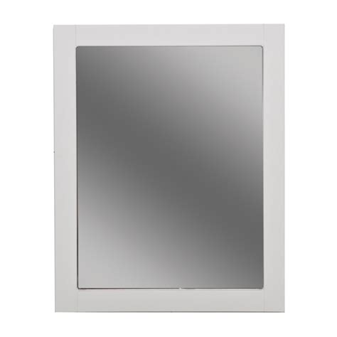 bathroom wall mirror exceptional white bathroom mirrors 4 white bathroom wall
