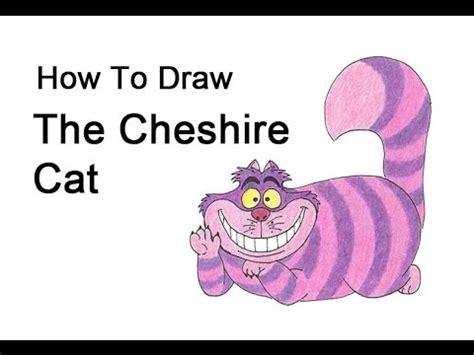 draw  cheshire cat  alice  wonderland