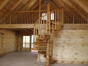 Wood Spiral Staircase Photos