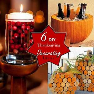 6 DIY Thanksgiving Decorating Ideas