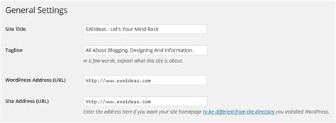 How To Change The Site Url Without Logging In Wordpress