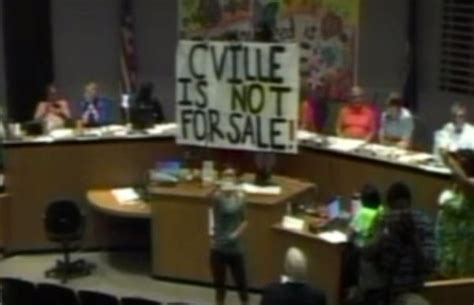 Protest Shuts Down Charlottesville Planning Commission