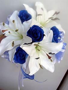 Beautiful Blue Wedding Flowers