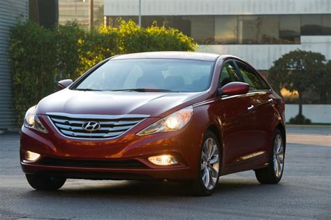 2012-2013 Hyundai Sonata Recalled For Airbag Issue