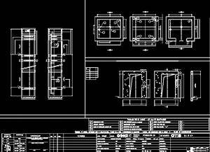 Elevator, Specifications DWG Block for AutoCAD • Designs CAD