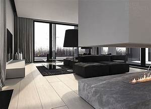How to create minimalist home design ideas which combine a for Interior decorated house pictures