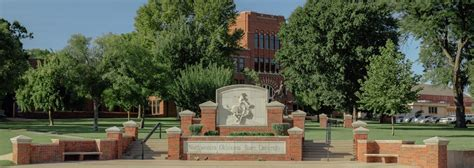 campus map northwestern oklahoma state university