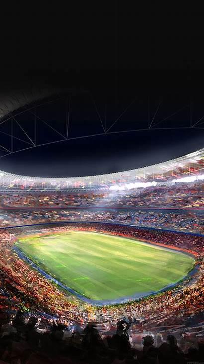 Iphone Barcelona Camp Nou Fc Soccer Field