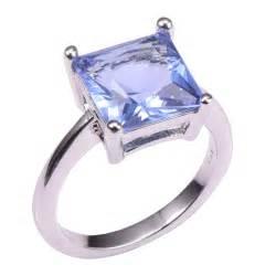 tanzanite wedding ring set classic style tanzanite 925 sterling silver wedding fashion design ring size 5 6