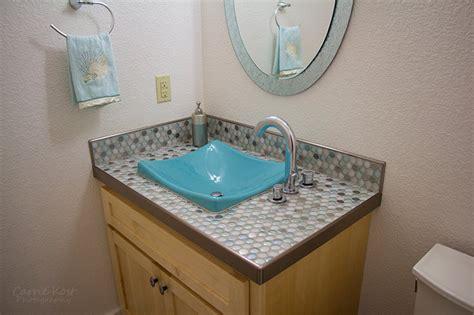 Bathroom Tile Countertop Ideas by Elkhart Lake Tiled Bathrooms Precision Floors D 233 Cor