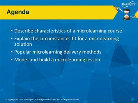 Webinar  Microlearning Getting Started