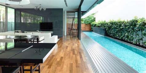 detached modern bungalow  hyla design singapore