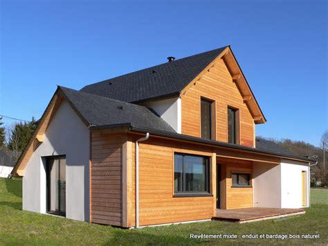 maison en bois auvergne file maison bois avec rev 234 tement mixte bois naturel et enduit 224 asson b 233 arn jpg wikimedia