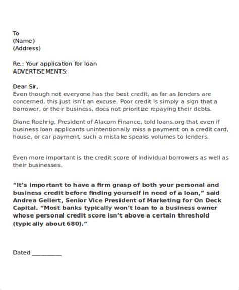collection letter sle letter of credit pdf format credit letter templates 6