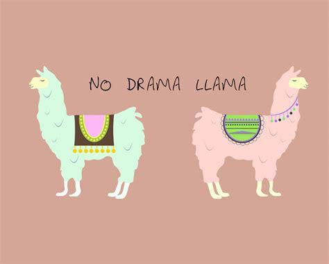 drama llama vector mockup templates images vectors