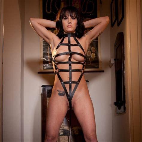 Rapture Female Leather Bondage Harness Sex Toys At