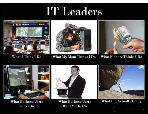 Information Technology Memes - it leaders what they really do geek pinterest