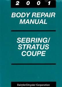 Used Chrysler Sebring And Dodge Stratus Coupe Body Repair