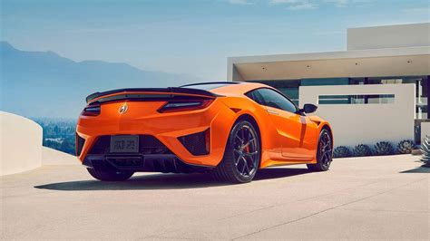 2019 Acura Nsx Is Stiffer, Orange, $1,500 More Expensive