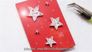 Carte Nouvelle Année : quilling carte aux etoiles pour souhaiter bonne ann e ~ Dallasstarsshop.com Idées de Décoration
