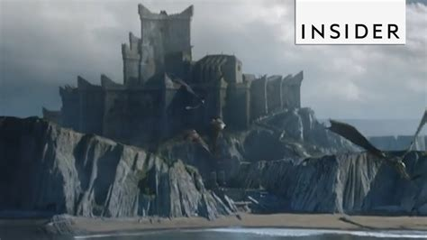 game  thrones dragonstone  real life youtube