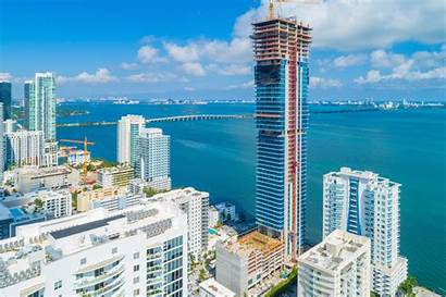 Elysee Miami Building Edgewater Tallest Residential Tops