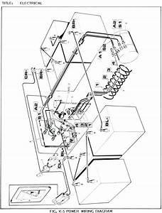 1989 Ez Go Marathon Wiring Diagram