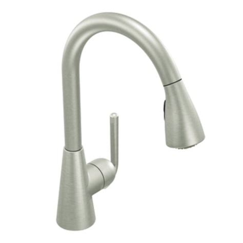 cheap moen kitchen faucets cheap price moen s71708csl ascent one handle high arc