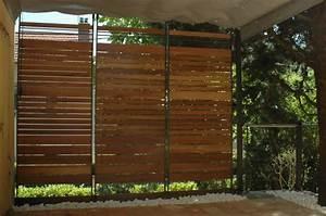 brise vue brise vent With toile pour terrasse exterieur 7 brise vue retractable sur mesure