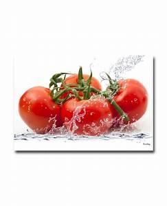 Tableau Pour Cuisine : tableau plexiglass cuisine tomates ~ Teatrodelosmanantiales.com Idées de Décoration