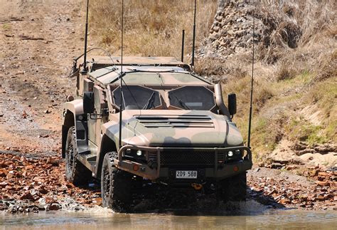 Australia Chooses Thales's Hawkei Vehicle