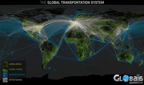 Gigantic, gorgeous visualization of humanity's transport ...