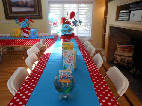 rental table and chairs dr seuss thing 1 and thing 2 baby shower marants1