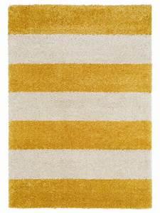 Teppich Gelb Grau : benuta hochflor shaggy teppich graphic stripe blau gelb grau rot schwarz ebay ~ Indierocktalk.com Haus und Dekorationen