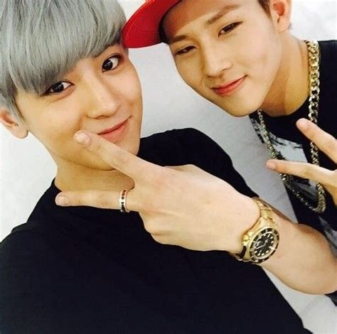 exo show exo s chanyeol shows support for monsta x s jooheon exo