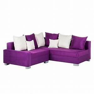 3 Sitzer Couch : ecksofa stoff lila 3 sitzer sofa couch eckcouch polsterecke neu ~ Bigdaddyawards.com Haus und Dekorationen