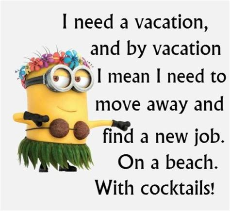 fun minion quotes  work quotesgram