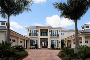 Contemporary Florida Style Home Design Plan 1810