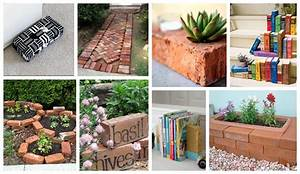 How To Decorate Your Home And Garden With Bricks