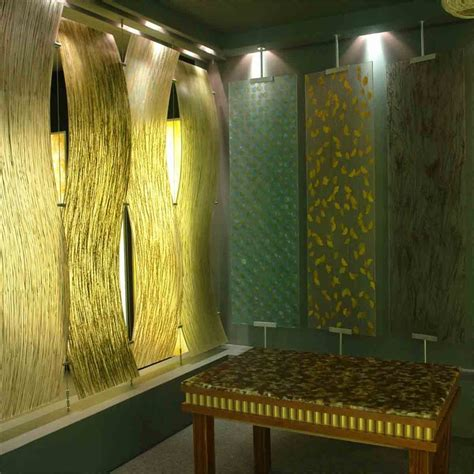 green glass walls partition design decor acrylic panels