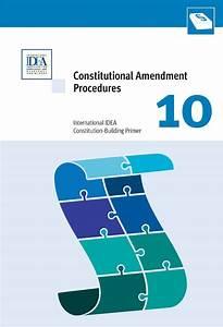 Constitutional Amendment Procedures