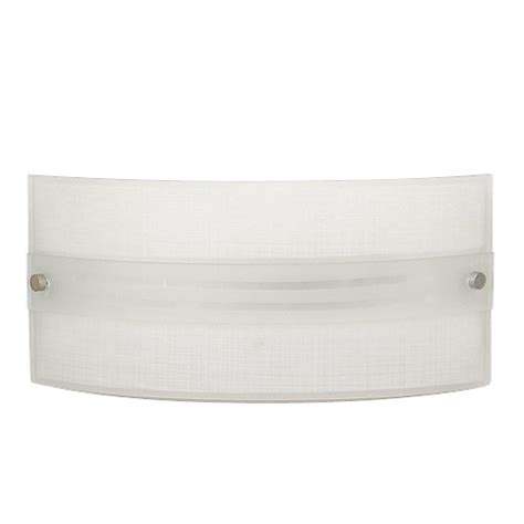 wall sconce quot luongo quot 1 light wall sconce rona