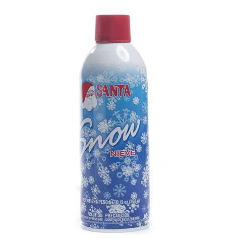 santa artificial snow spray mediums and finishes
