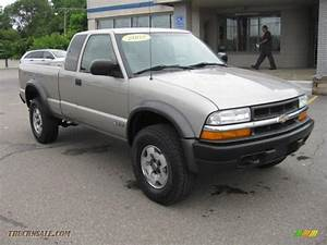 2002 Chevrolet S10 ZR2 Extended Cab 4x4 in Light Pewter