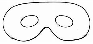 Full Face Mask Template