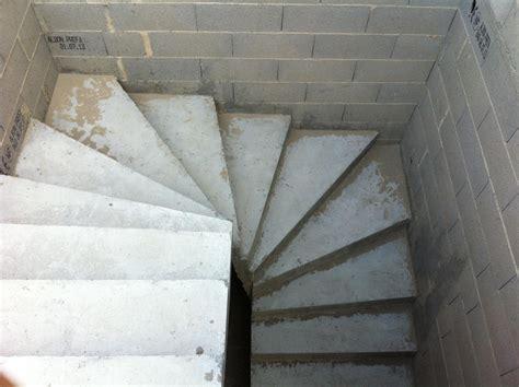 escalier beton