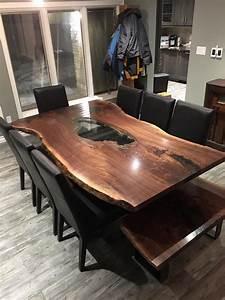 Solid Wood Designs, Live Edge Harvest Tables, Boardroom